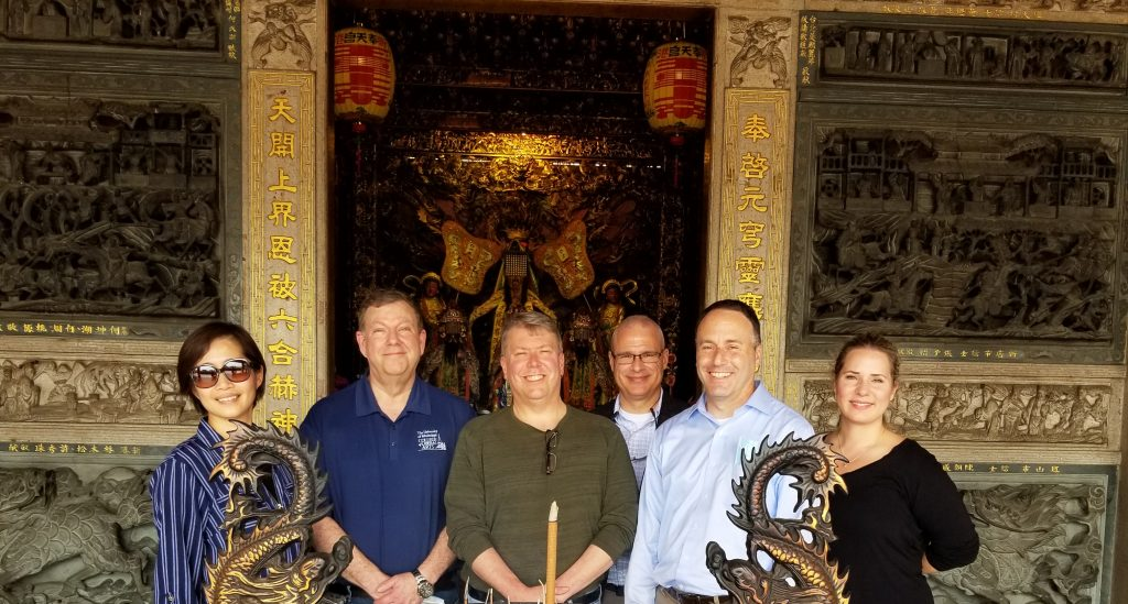 UM Administrators in Chiayi, Taiwan